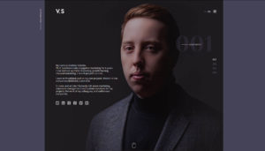 Сайт маркетолога Vladimir Sobolev (Днепр)