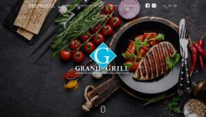 "Сайт ресторана ""Grand Grill"" (Винница)"